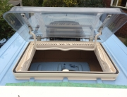Sprinter Build Post 5 - Fitting Midi Heki Rooflight [martintype.co.uk] 08