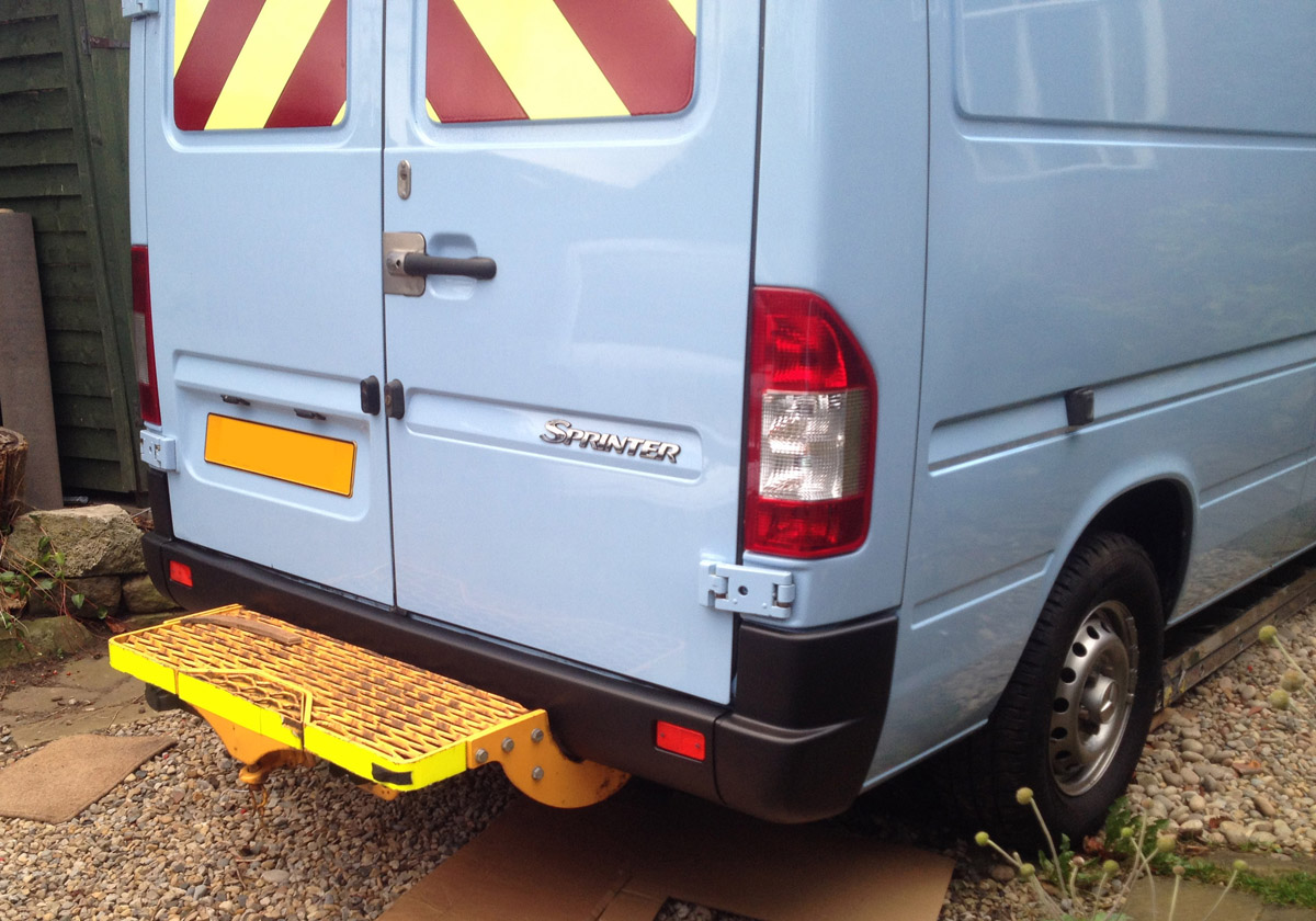 Sprinter Build Post 7 - Wheels Bumpers Lights and Reversing Cameras [martintype.co.uk] 08