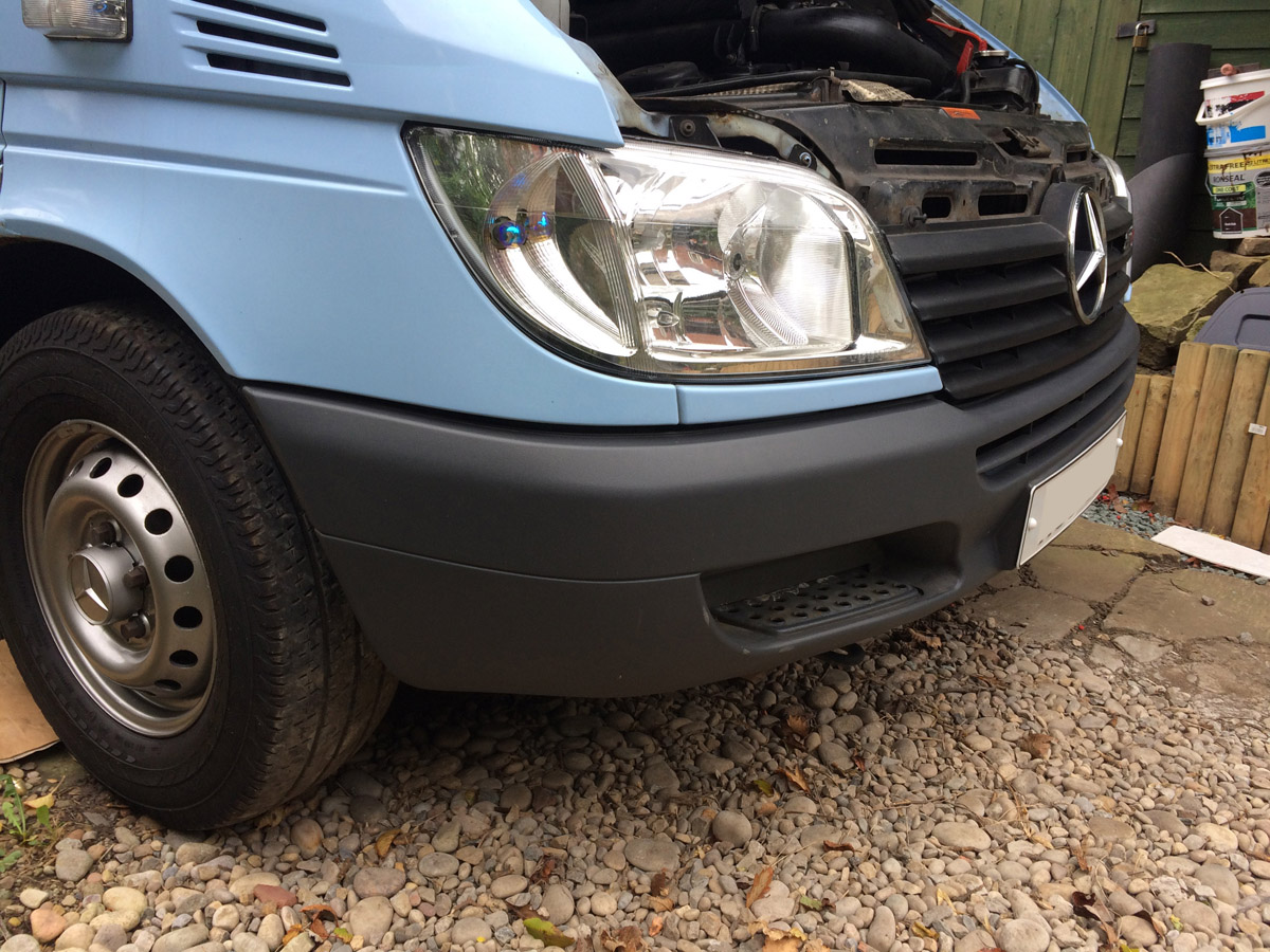 Sprinter Build Post 7 - Wheels Bumpers Lights and Reversing Cameras [martintype.co.uk] 11