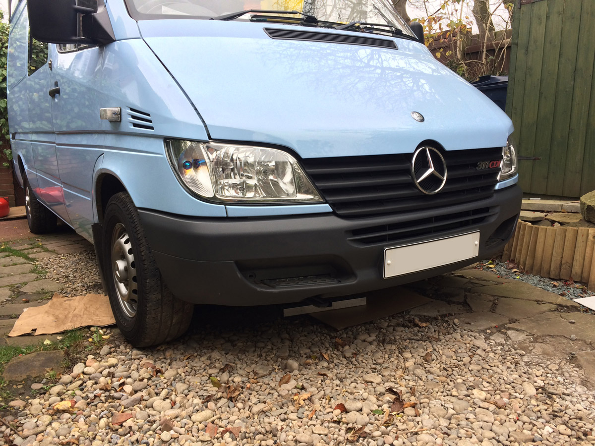 Sprinter Build Post 7 - Wheels Bumpers Lights and Reversing Cameras [martintype.co.uk] 12