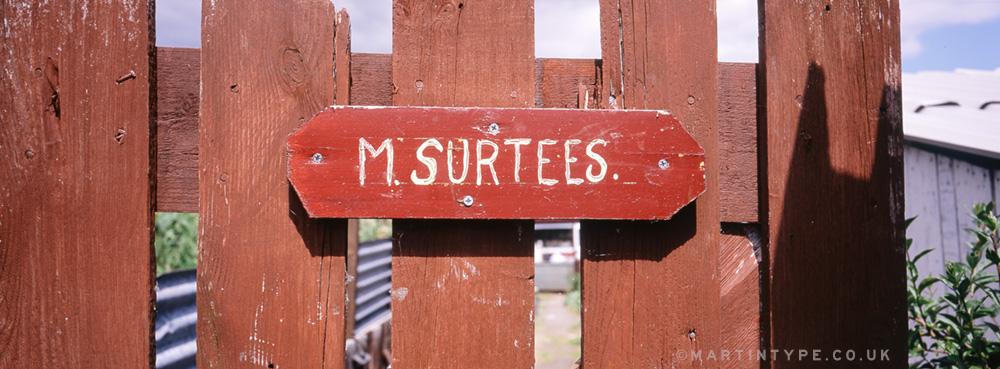 Maurice Surtees, Ryhope Pigeon Cree [Andy Martin - martintype.co.uk] 02