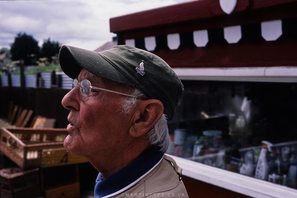 Maurice Surtees, Ryhope Pigeon Cree [Andy Martin - martintype.co.uk] 07