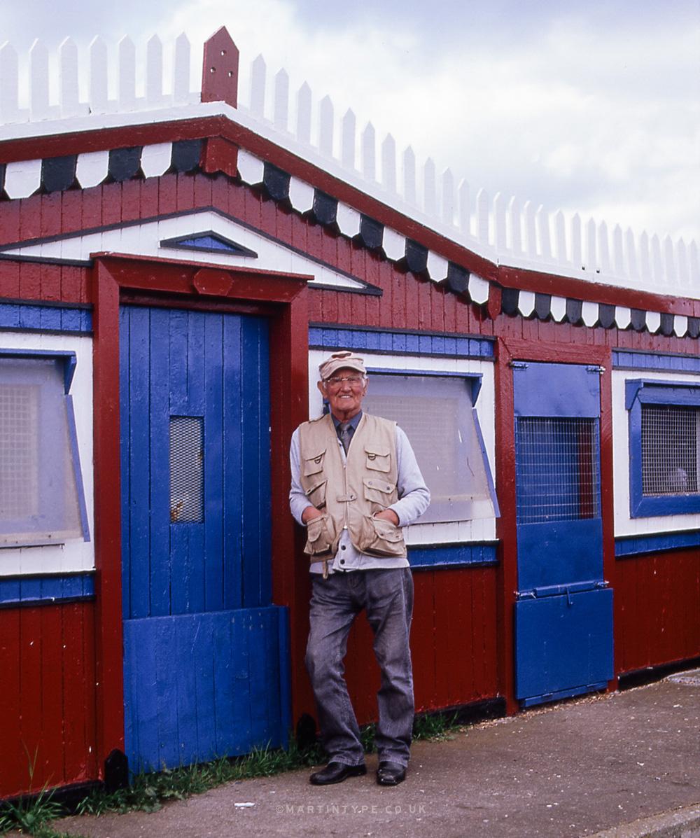 Maurice Surtees, Ryhope Pigeon Cree [Andy Martin - martintype.co.uk] 13