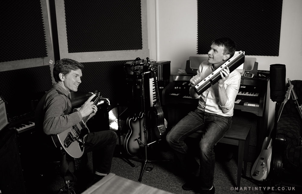 Field Music 2015 - David and Peter Brewis [Andy Martin - martintype.co.uk] 11