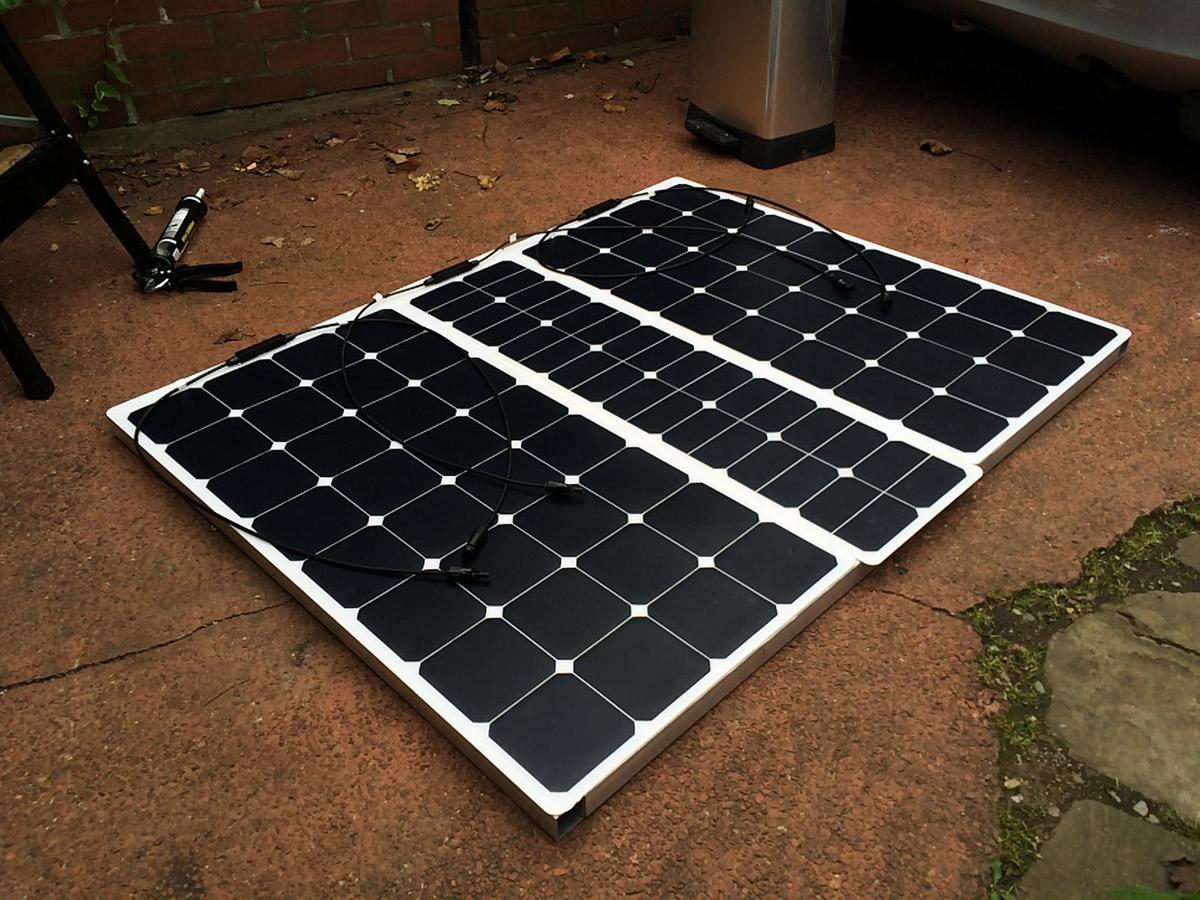 Sprinter Build Post 9 - Solar Panel Installation [martintype.co.uk] 05
