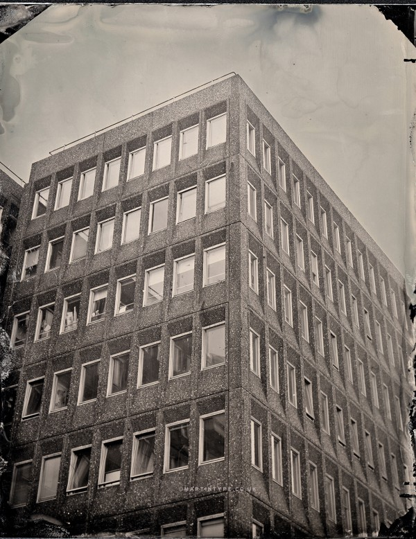 Commercial Union House Tintype